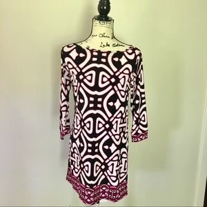 Laundry by Design long sleeve shift dress.